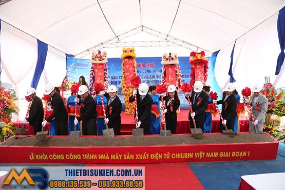 Lễ khởi công nhà máy Chilisin Việt Nam