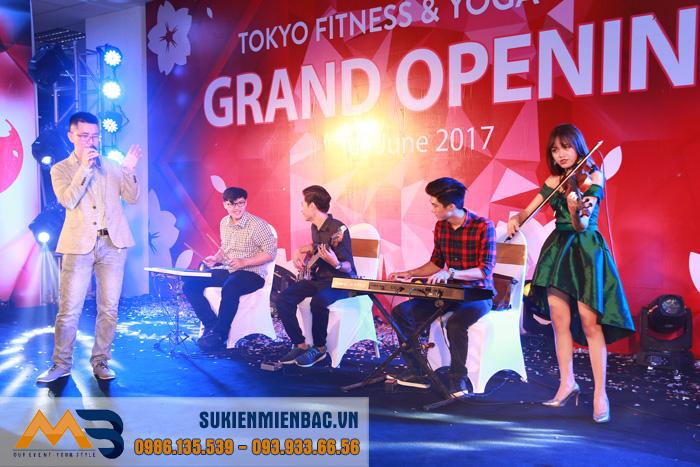 Lễ khai trương Tokyo Fitness & Yoga Center