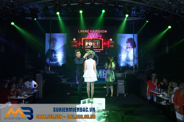 Party: LAKME Hairshow 2017