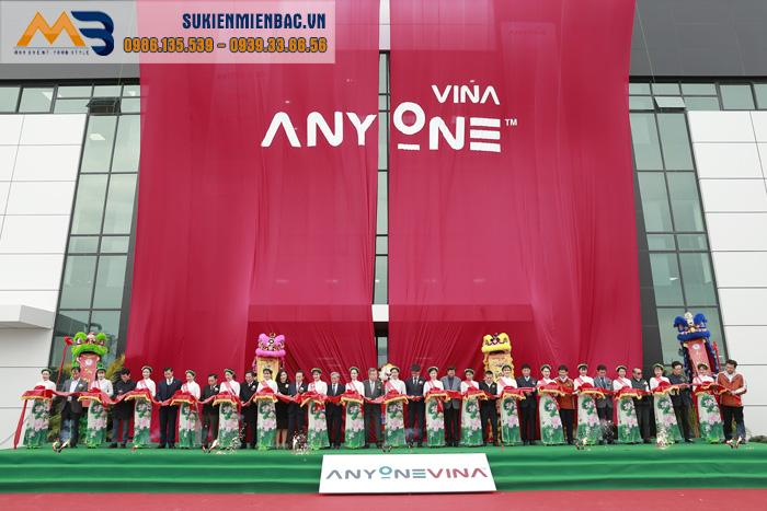 Lễ khánh thành Nhà máy Anyone Vina