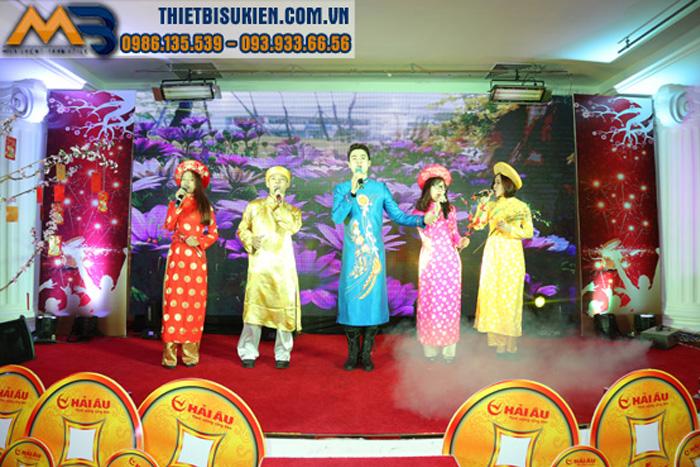 Tổ chức tiệc cuối năm và chúc mừng năm mới 2018
